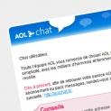 AOL : emailing lancement nouveaux services