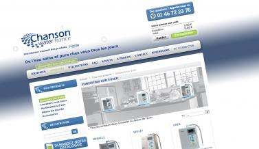 Chanson Water : e-shop / boutique en ligne