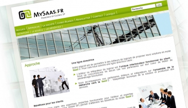 My Saas : site et blog corporate
