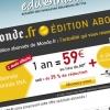 Le Monde.fr : bannière pour emailing INA.fr