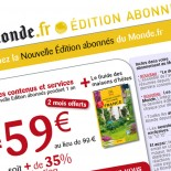 Le Monde.fr : emailing recrutement abonns
