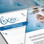 Lexair : site vitrine, accès client et interface d'administration simplifiée
